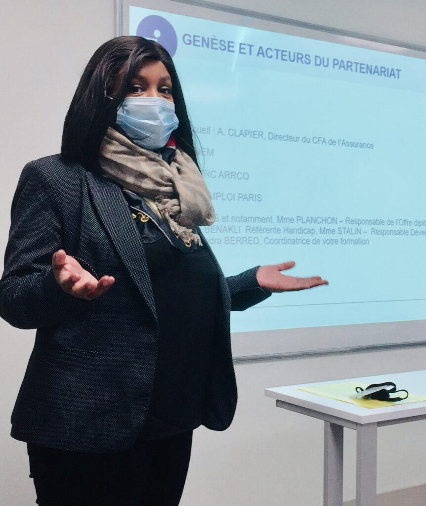 Asmahani AHAMADA, cheffe de projets RH à l'ANEM.